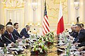 President Donald J. Trump Leads a Bilateral Meeting with President Andrzej Duda, July 6, 2017.jpg