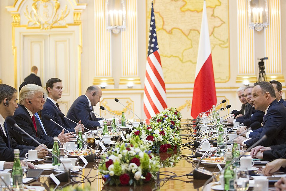 President Donald J. Trump Leads a Bilateral Meeting with President Andrzej Duda, July 6, 2017