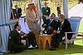 President George W. Bush meets with Prince Abdullah Bin Abd Al Aziz of Saudi Arabia and King Abdullah Bin Al Hussein of Jordan.jpg