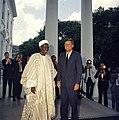 President John F. Kennedy with Abubakar Tafawa Balewa, Prime Minister of Nigeria (06).jpg