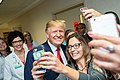 President Trump and the First Lady in Dayton, Ohio (48482664741).jpg