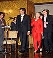 Presidente ecuatoriano, Rafael Correa recibe a la Secretaria de Estado de EUA, Hillary Clinton en Carondelet (4685587896).jpg