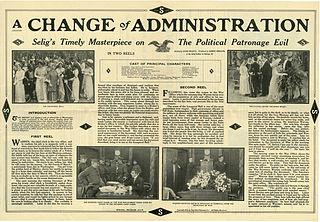 <i>A Change of Administration</i> 1913 film by Hardee Kirkland