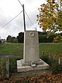 Prickwillow war memorial - geograph.org.uk - 1556036.jpg