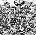 Priesterseminar Meersburg Kupferstich 1739 Wappen.jpg