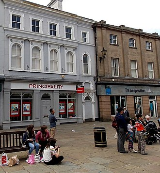 Principality Building Society - Shrewsbury branch