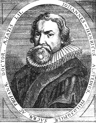 Johann Heinrich Alsted - Johann Heinrich Alsted.