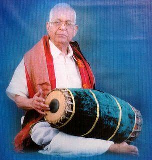Mavelikkara Velukkutty Nair Indian percussionist