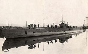 French submarine Prométhée (Q153) - Prométhée.