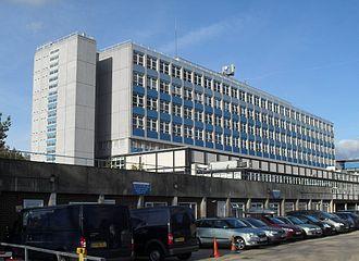 Public services in Crawley - Crawley Hospital