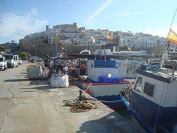 Puerto marítimo de Peñiscola (Castellón).jpg