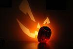 A halloween szimbóluma, a töklámpás
