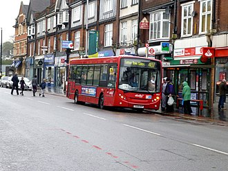 Abellio (London & Surrey) - Alexander Dennis Enviro200 Dart on route 407 in Purley