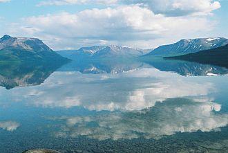 Putorana Plateau - Image: Putorana. Lama lake