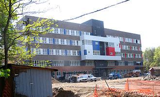 Queens Metropolitan High School - under construction (Fall 2010)