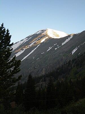 Quandary Peak - Image: Quandary Peak
