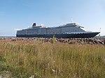 Queen Elizabeth at Pier 24 in Port of Tallinn Tallinn 3 August 2018.jpg
