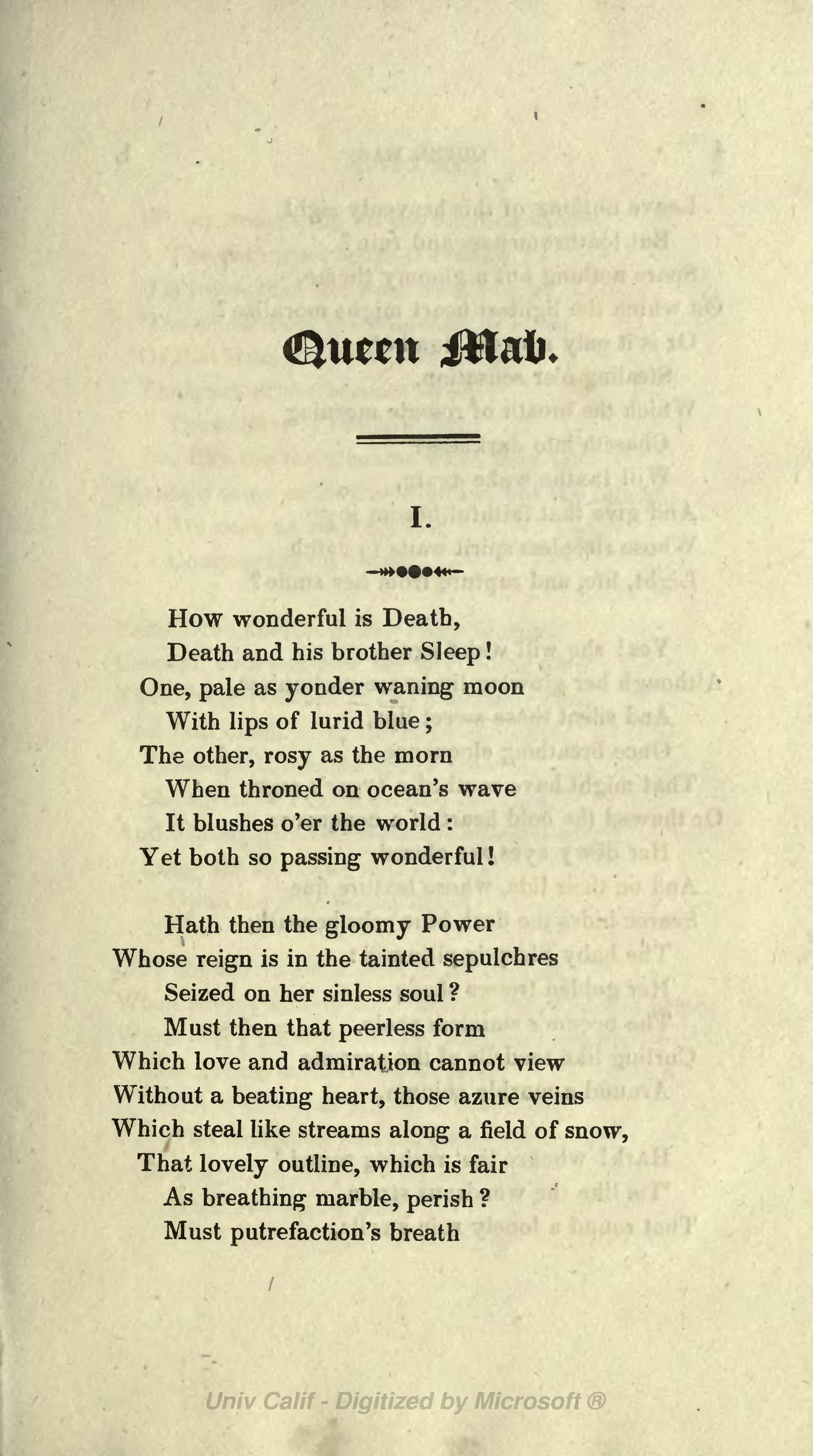 page queen mab  shelley  djvu  9