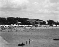 Queensland State Archives 2173 Campers on the beach Scarborough December 1937.png