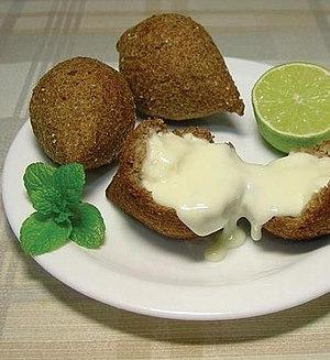 Kibbeh - Image: Quibe frito