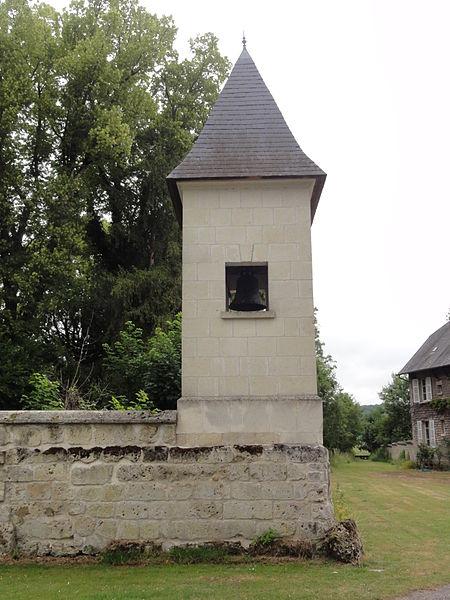 Quincy-Basse (Aisne) clocher tour-d'angle