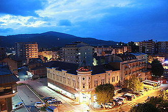 Mitrovica, Kosovo - The city of Mitrovica