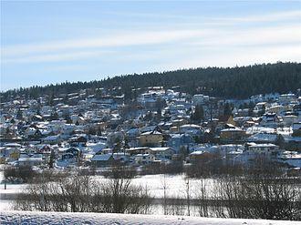 Rælingen - The village of Rælingen