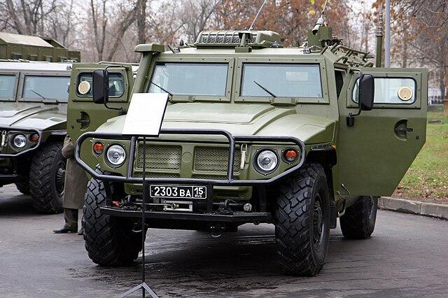 GAZ Tiger truck