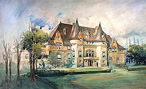 Richard B. Angus - Pine Bluff, the Angus country home near Senneville