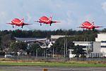 RAF Red Arrows at Prestwick Airport (29656423872).jpg