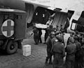 RAMC 801-22-34 Patient being loaded into air Wellcome L0031178.jpg