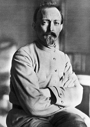 Felix Dzerzhinsky - Dzerzhinsky in 1918