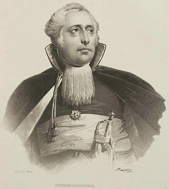 Batavian Republic - Rutger Jan Schimmelpenninck as Grand Pensionary