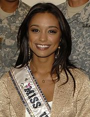 Miss USA 2007 Rachel Smith, who competed as Miss Tennessee USA