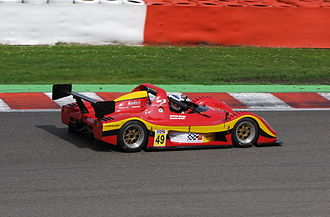 Radical Sportscars - An SR3 at Spa in 2009.