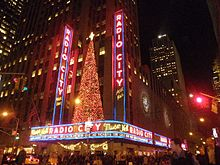 Le Radio City Music Hall à Noël 2006.