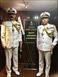 Radm MA Hampiholi, NM taking over helm of Western Fleet from Radm RB Pandit onboard INS Trishul.jpg