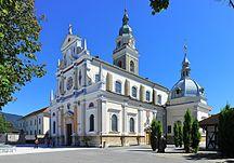 Slovenia-Religion-Radovljica Brezje Bazilika Sv Vida 28082012 011