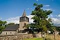 Rahier, l' église Saint-Paul avec le cimetière attenant et le vieux chêne.jpg