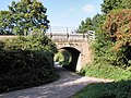 Railway over-bridge, near Whimple - geograph.org.uk - 1510018.jpg