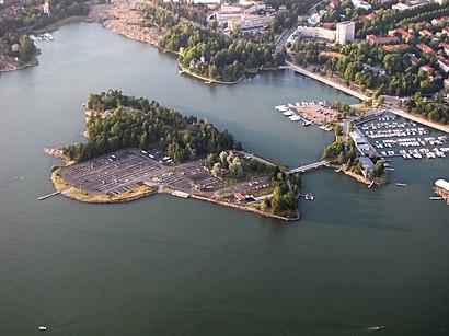 Kuinka Paasta Kohteeseen Rajasaari Paikassa Helsinki