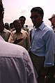 Rajiv Shah, an administrator with the United States Agency for International Development, talks to Pakistani officials about flood relief efforts in Pakistan Aug. 25, 2010 100825-A-KI401-033.jpg