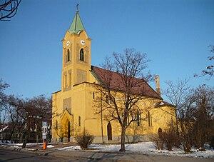 Rákosliget - Magyarok Nagyasszonya Roman Catholic church