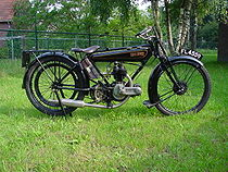 Raleigh Type 2 Sports 350 cc uit 1925