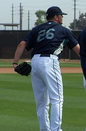 Randy Messenger - Messenger with the Seattle Mariners