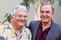 Randy Newman and Neil Diamond HWOF Aug 2012 (levels adjusted).jpg