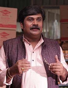 Rangayana Raghu During the shoot of Ishtakamya.jpg