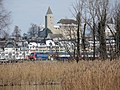 Rapperswil - Schloss - Seedamm (S5) - Holzbrücke 2013-01-21 11-24-18 (P7700).JPG