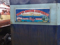 Raptisagar Express trainboard.jpg