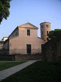 Ravenna, Chiesa di Santa Maria Maggiore, veduta esterna.jpg